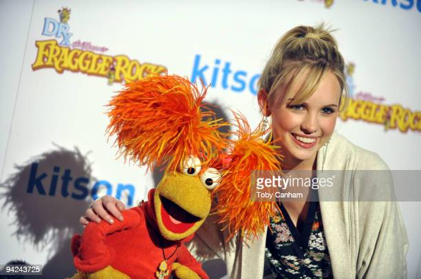 Meaghan Martin poses for a picture at the Fraggle Rock event held at Kitson on December 9 2009 in West Hollywood California