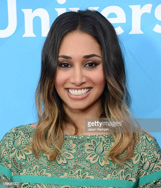 """Meaghan Rath attends NBCUniversal's """"2013 Winter TCA Tour"""" Day 2 at Langham Hotel on January 7, 2013 in Pasadena, California."""