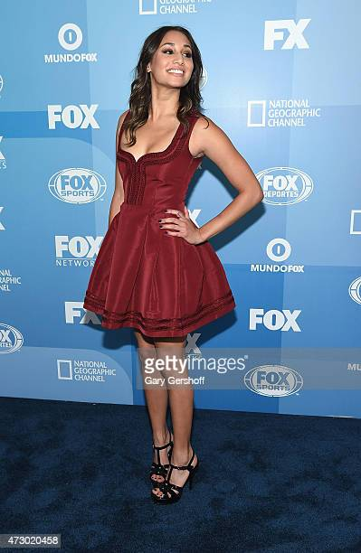 Meaghan Rath attends the 2015 FOX Programming Presentation at Wollman Rink Central Park on May 11 2015 in New York City