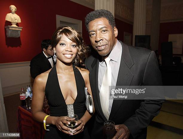 Meah Pace and Ernie Hudson during Creative Coalition Gala September 6 2006 at Corcoran Gallery of Art in Washington DC Washington DC United States