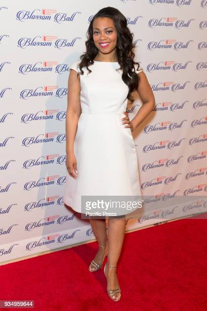 Meah Pace attends Endometriosis Foundation of America 9th Annual Blossom Ball at Cipriani 42nd street