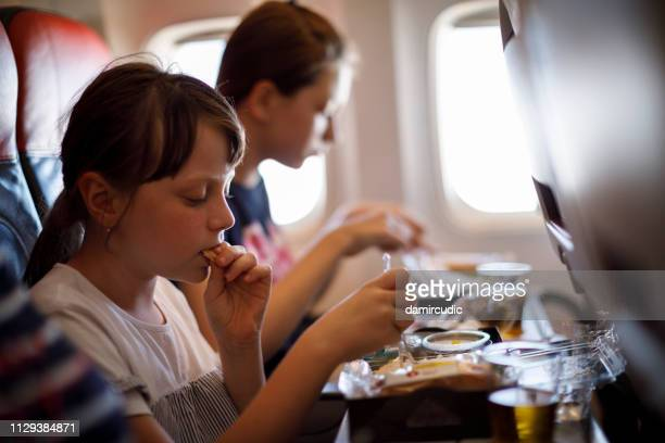 Meal in the airplane