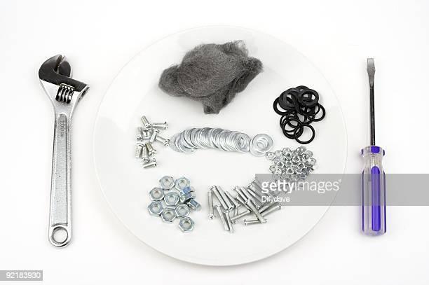 お食事のツールボルトおよびその他の金具