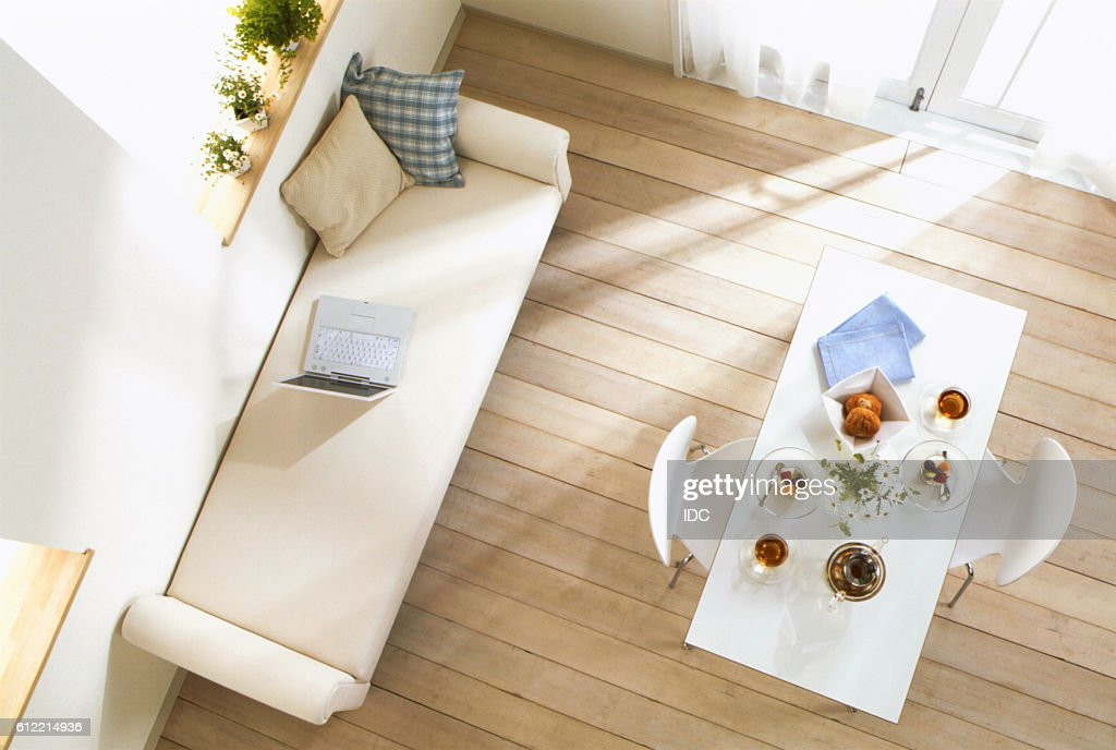 Fantastic Meal On Table Next To Sofa High Res Stock Photo Getty Images Uwap Interior Chair Design Uwaporg