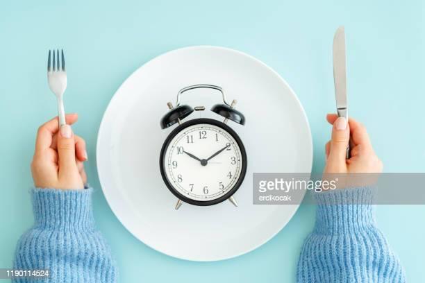maaltijd planning voor dieet concept - lunch stockfoto's en -beelden