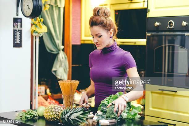 Zubereitung einer Mahlzeit