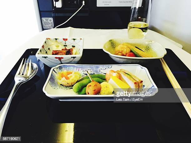 Meal Served In Airplane