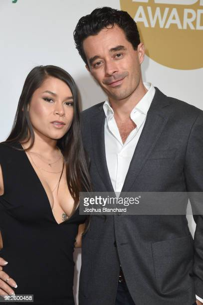Meana Wolf and guest attend the 2018 XBIZ Awards on January 18 2018 in Los Angeles California