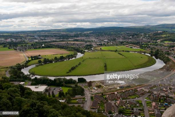 Meander in the River Forth at Stirling Showing land use for urban and agriculture side by side