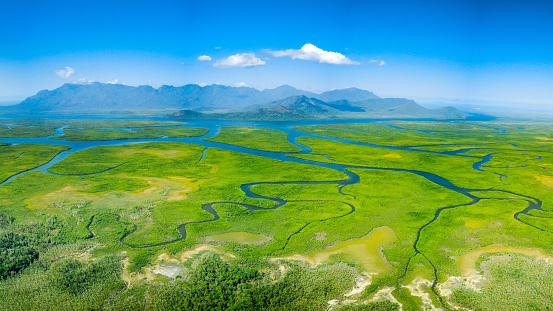 Meandering rivers and mangroves of Hinchinbrook Island 1160901905