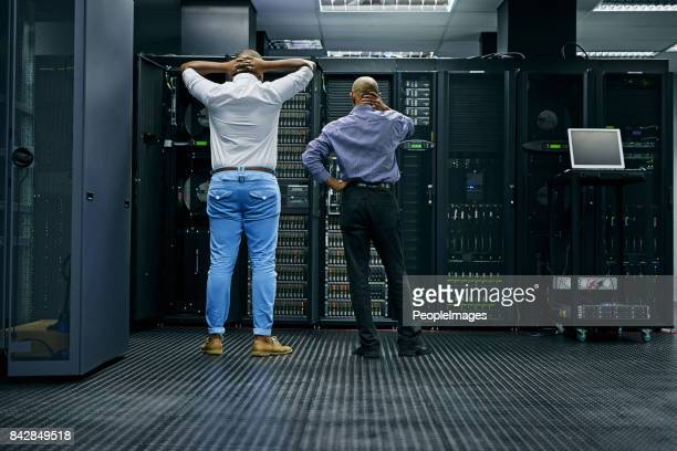 meanwhile in the server room... - computer network stock pictures, royalty-free photos & images