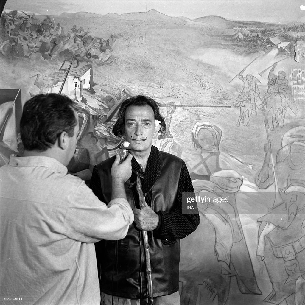 Close-up: Salvador Dali : News Photo