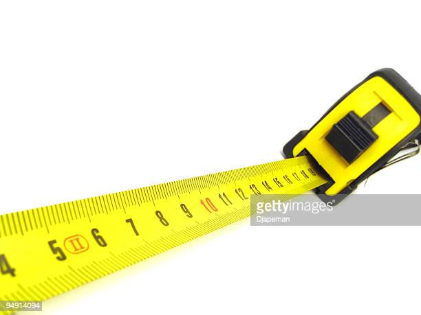 measure tape - meter unit of length stock photos and pictures