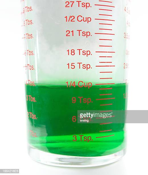 measurement container ... 1/4 cup - measuring cup stock pictures, royalty-free photos & images