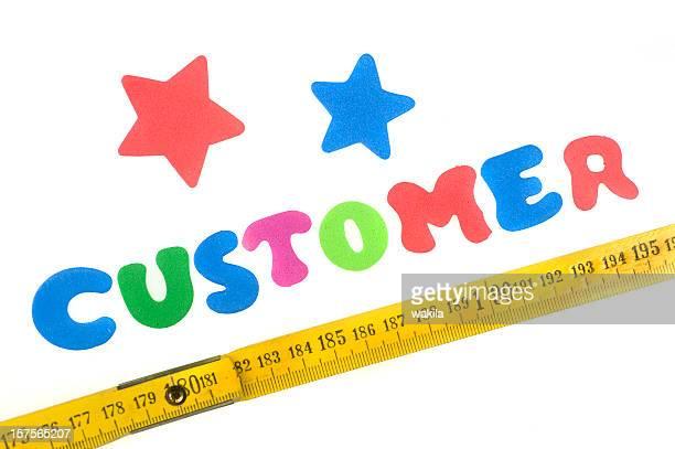 measurement of the customer