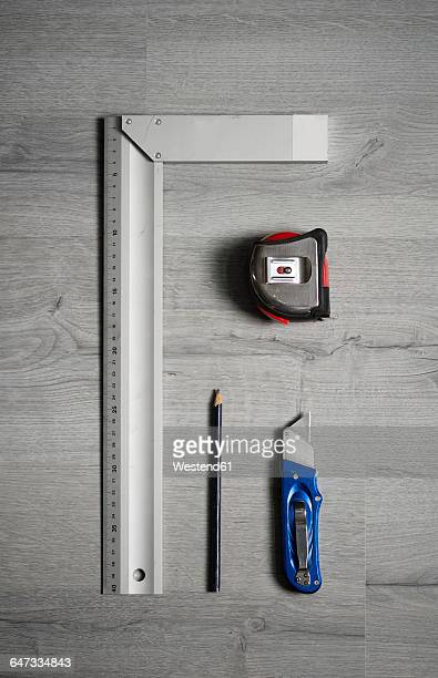 Measuring and cutting tools
