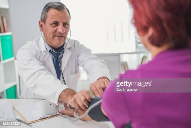 Measuring blood preassure