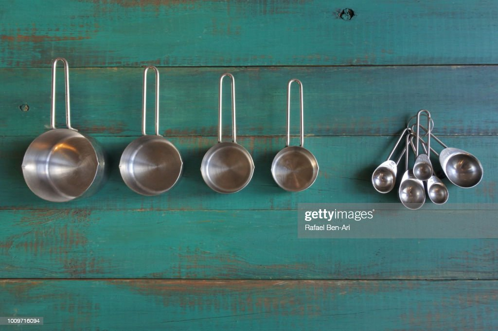 Measuring Cups and Measuring Spoons : Stock Photo