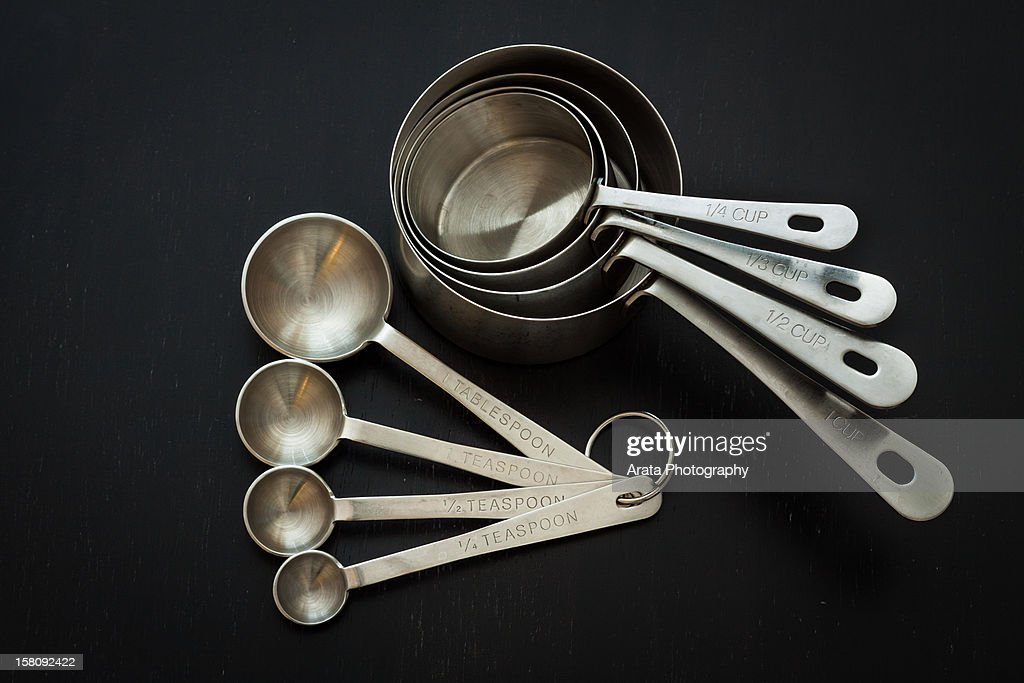 Measuring Cups and Spoons : Stock Photo