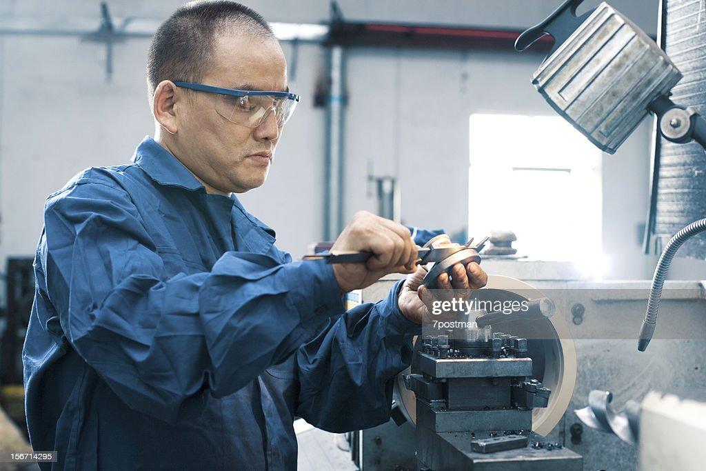 Measuring Equipment Digital Micrometer : Stock Photo