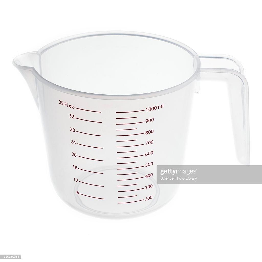 Measuring jug : Stock Photo