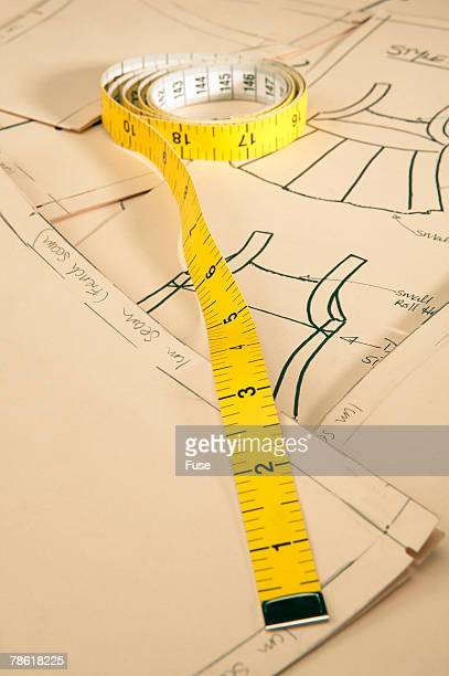 Measuring Tape and Dress Pattern