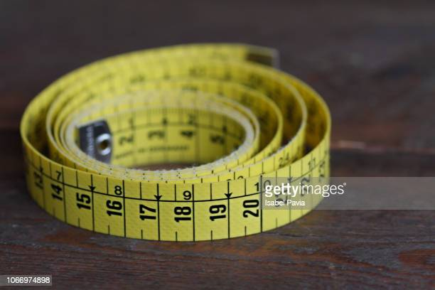 measuring tape - meter unit of length stock pictures, royalty-free photos & images