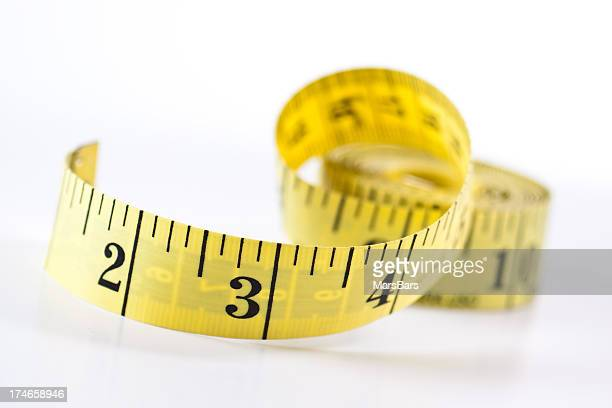 Measuring Tape with shallow focus