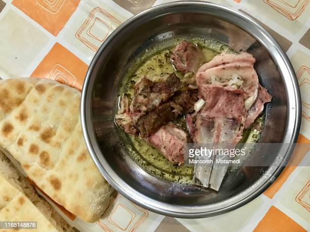 meat and bread for food - chicken tikka stock photos and pictures