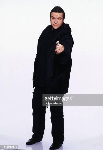 Meat Loaf, amerikanischer Rocksänger und Schauspiele, Deutschland 2001. American rock singer and actor Meat Loaf, Germany 2001.