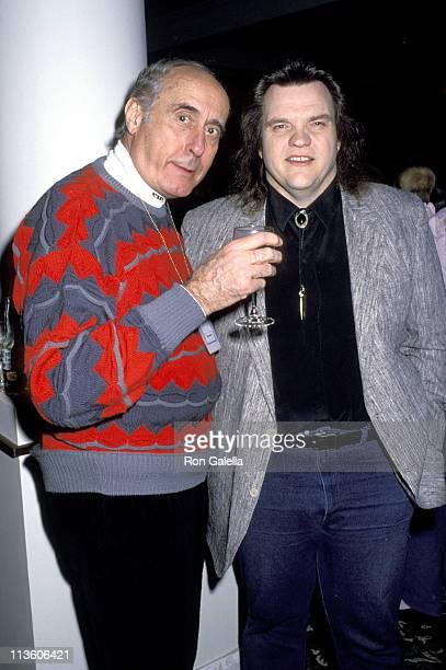 Meat Loaf and Henry Mancini during Chateau Lake Louise Centennial Celebrity Sports Invitational at Chateau Lake Louise in Lake Louise Alberta Canada