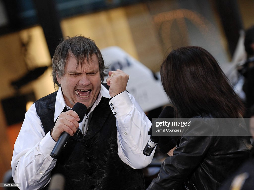 """Meat Loaf Performs on NBC's """"The Today Show"""" - October 27, 2006"""