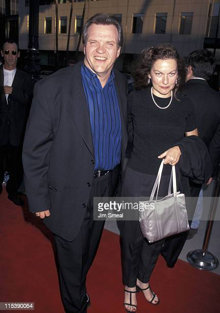 Meat Loaf and wife during Showtime's '12 Angry Men' Premiere Beverly Hills at Samuel Goldwyn Theater in Beverly Hills CA United States