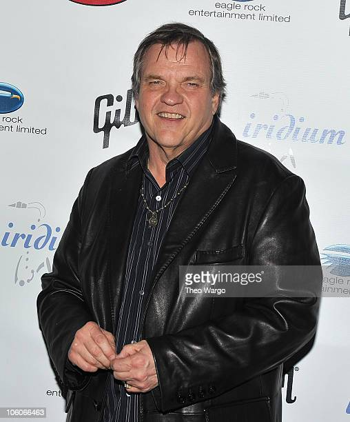 Meat Loaf attends A Celebration of Les Paul at Iridium Jazz Club on June 9 2010 in New York City
