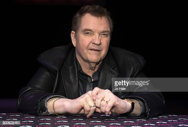 Meat Loaf Bat Out of Hell singer meets fans and signs CD booklet ahead of the release of his new album 'Better Than We Are' at HMV Oxford Street on...