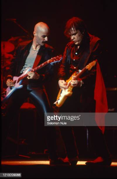 Meat Loaf Bob Kulick Midnight at the lost and found tour Wembley Arena 24 September 1983 Photo by Solomon N'Jie/Getty Images