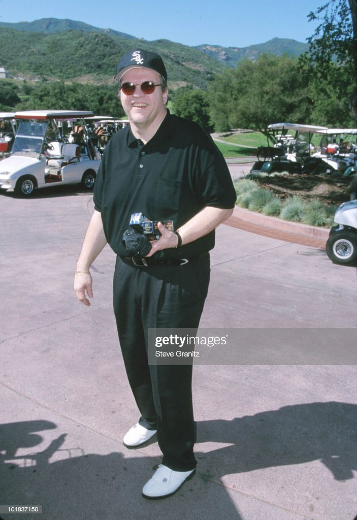 Meat Loaf during Casey Lee Ball Classic Charity Golf Tournament at Lake Sherwood Country Club in Westwood, California, United States.