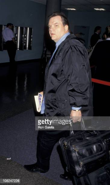 Meat Loaf during Meat Loaf at Los Angeles International Airport at Los Angeles International Airport in Los Angeles California United States