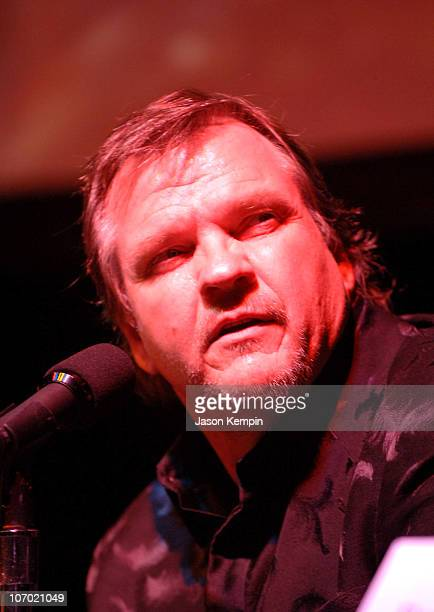 Meat Loaf during Meat Loaf 'Bat Out of Hell III The Monster is Loose' Press Conference and Listening Party at Avalon in New York City New York United...