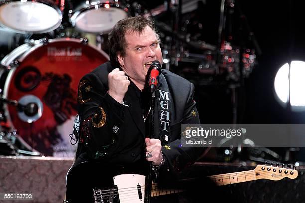 """Meat Loaf gastiert in Begleitung der amerikanischen Sängerin Patricia """"Patti"""" Russo auf seiner """"Last At Bat Farewell""""-Tour Arena Oberhausen"""