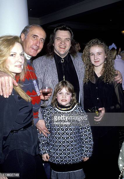 Meat Loaf Henry Mancini and family during Chateau Lake Louise Centennial Celebrity Sports Invitational at Chateau Lake Louise in Lake Louise Alberta...