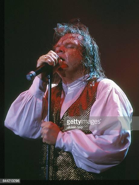 Meat Loaf Musiker Sänger Schauspieler USA bei einem Auftritt