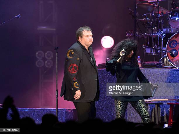 Meat Loaf performs on stage at Olympiahalle on April 30 2013 in Munich Germany