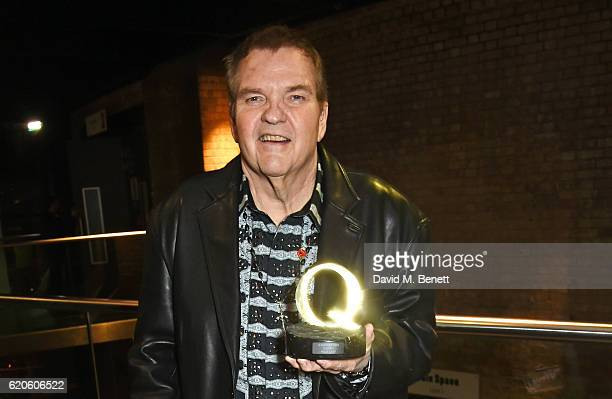 Meat Loaf winner of the Q Hero award attends The Stubhub Q Awards 2016 at The Roundhouse on November 2 2016 in London England