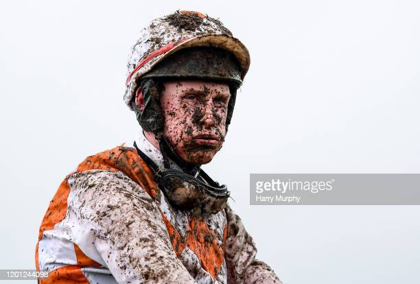 Meath Ireland 16 February 2020 Trevor Ryan after riding Beating The Odds in the navanadventurecentreie Handicap Hurdle at Navan Racecourse in Navan...