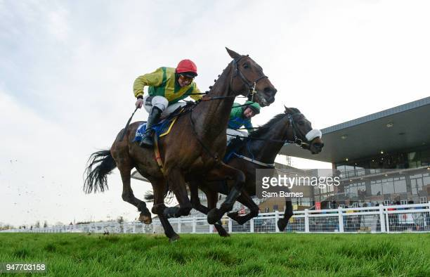Meath Ireland 17 April 2018 Sizing Coal with Jamie Codd up on their way to winning The Door And Floor Centre Supporting Meath GAA Joseph R O`Reilly...