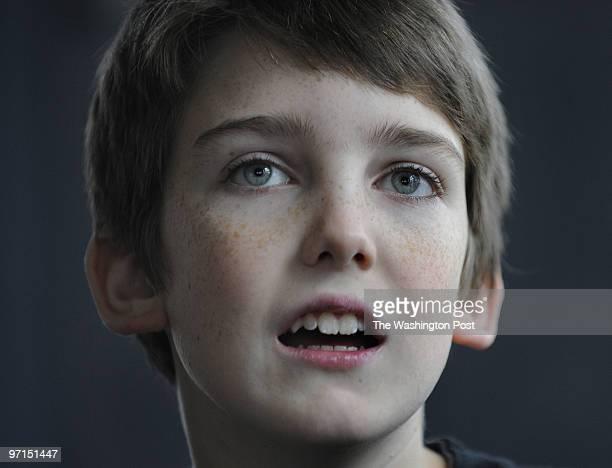 November 27, 2009 CREDIT: Carol Guzy/ The Washington Post Arlington VA Will Gilbertsen, 11 years old, has Asperger Syndrome. His mother Kathleen...