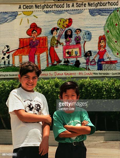 MEBillboard0625CC Diana Navarro who is in the 4th grade and Jesus Palacios in kindergarden are grand prize winners in the contest held at Magnolia...