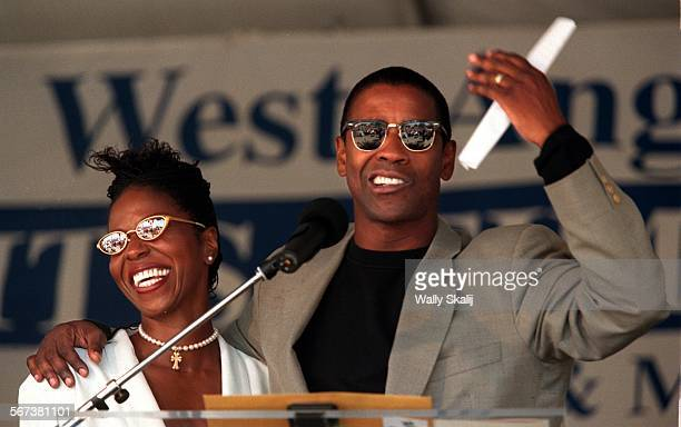 MECathedral30628WS––Actor Denzel Washington and his wife attended the groundbreaking ceremonies and donated a few million dollars for a new...