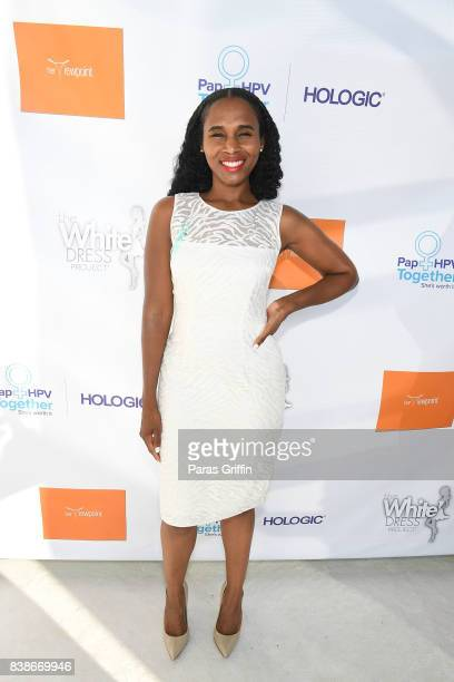 Mecca Moore Tartt at 'The Immortal Life Of Henrietta Lacks' Viewing Panel Discussion with Renee Elise Goldsberry Dr Jessica Shepherd Dr Jackie...